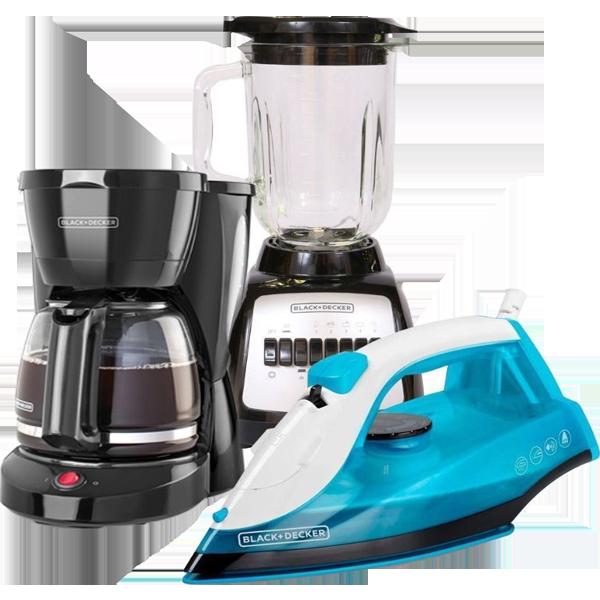 Combo 2 Licuadora Coffee Maker y Plancha B&D