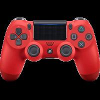 Control  PS4 Rojo Magma