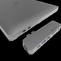 Hub USB C para MacBook