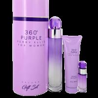 Estuche Perry Ellis 360 Purple 3 Pzs