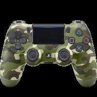 Control  PS4  Verde Camuflaje