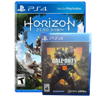Call Of Duty Black Ops 4 y Horizon Zero Dawn Ps4