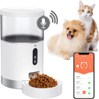 Dispensador Automático para Mascotas Pequeñas