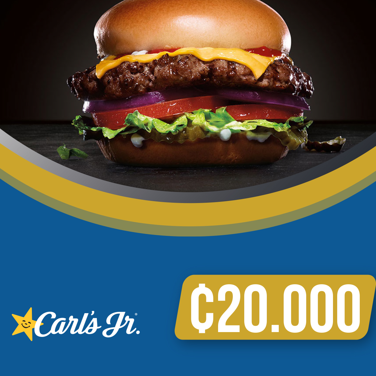 CARL'S JR ¢20.000